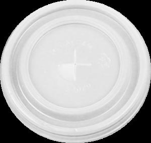 HIPS 6FL-3020-6 oz Foam Cup Flat Lid Image