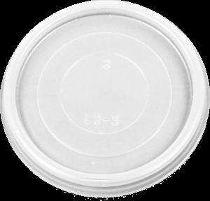 HIPS 3FL-3013-3 oz Foam Cont Flat Lid Image