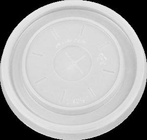 HIPS FL-3057-14/16/20 oz Foam Cup & 8oz Foam Cont. Flat Lid Image