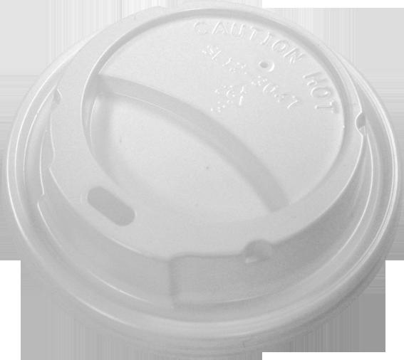 HIPS 12SL-3047-12 oz Foam Cup Sipper Lid Image