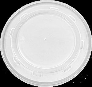 HIPS 28L-3085-28 oz Foam Bowl Lid Image