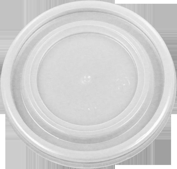 HIPS 4FL-3022-4 oz (1011) Foam Cont Flat Lid Image