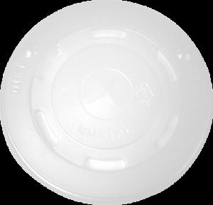 HIPS 12FL-3032-12oz Paper Cup Flat Lid Image
